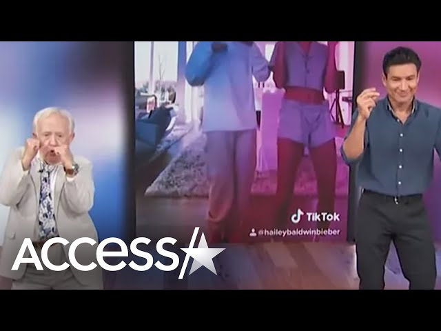 Mario Lopez & Leslie Jordan Compete In Viral TikTok Dance Challenge