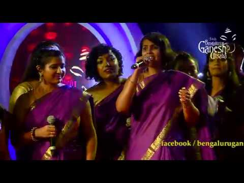 Lagaan movie songs medley By Berklee Indian Ensemble - USA @ 54th Bengaluru Ganesh Utsava..!!