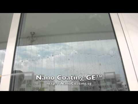 Nano Coating Singapore - Sliding Glass Door Demo