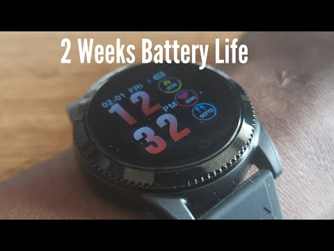 GoKoo fitness and smartwatch | 2 weeks battery life