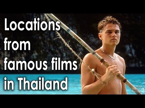 Locations from famous films in Thailand