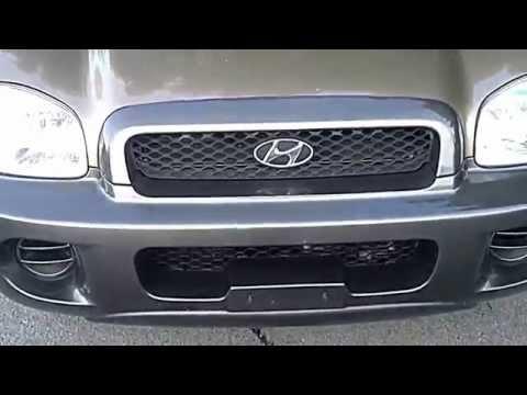 2003 Hyundai Santa Fe 2.4L Review
