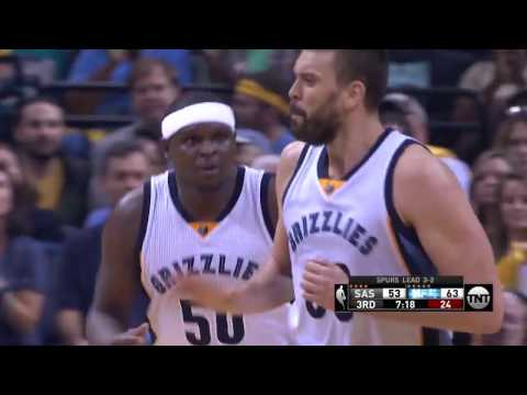 Marc Gasol and Mike Conley Combine for 44 in Memphis. | April 27, 2017
