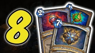 8 New SPELLSTONE INTERACTIONS (Diamond, Jasper, Ruby and more) | KOBOLDS AND CATACOMBS | HEARTHSTONE