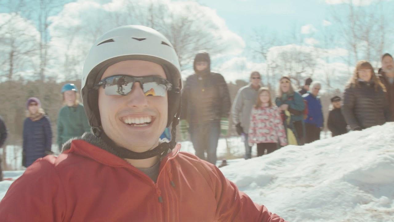 Skijor Skowhegan in Maine