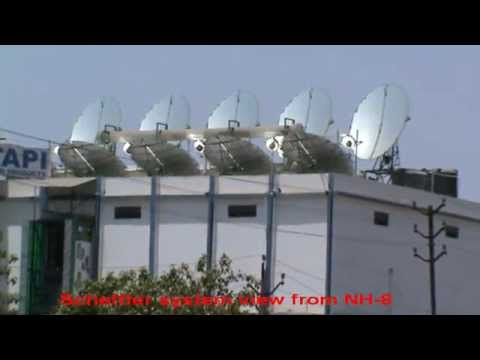 Solar Thermal Concentrators food processing at Tapi Food Products, Surat