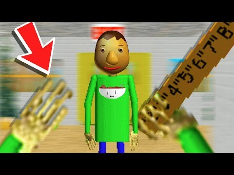 PLAY as BALDI! A CRAZY ENDING - Baldi's Basics in Education and Learning Update (3 Random Games) from YouTube · Duration:  19 minutes 15 seconds
