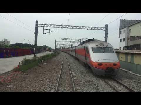 台鐵  沙崙線 3717次 台南 - 沙崙 路程景 行經 南台南站路段地下化工程 切換後東正線
