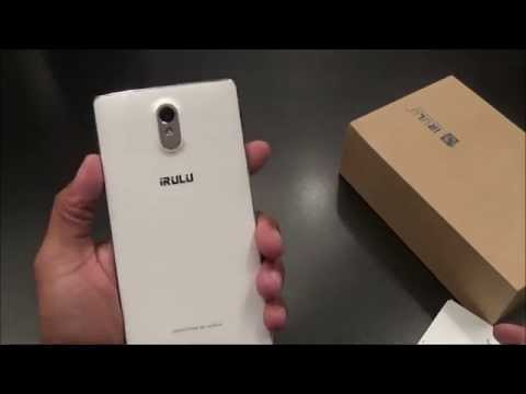 IRULU 6.5 Inch Unlocked Android Smartphone Unboxing and First Look