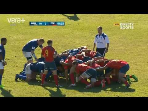 SPAIN VS NAMIBIA | Rugby Nations Cup