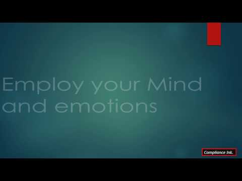 Employ Your Mind and Emotions