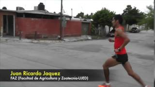 Carrera 5K 40º Aniversario UJED en Gómez Palacio, Durango, México.