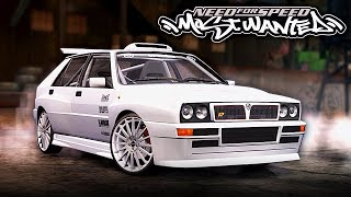 NFS Most Wanted | Lancia Delta HF Integrale Evo 2 Mod Gameplay [1440p60]