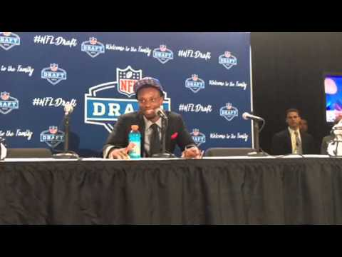 Eli Apple NY Giants NFL Draft 1st Round Pick Interview #NFLDraft