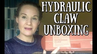 HYDRAULIC CLAW TINKER CRATE UNBOXING