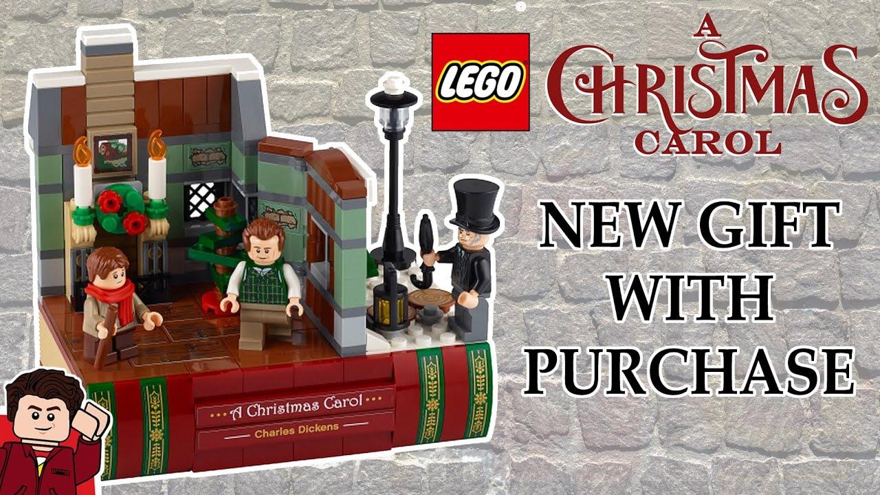 Lego A Christmas Carol Book Promo Youtube