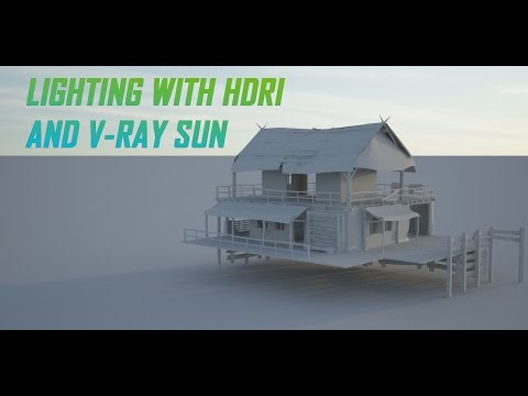 Lighting With HDRI And V-Ray Sun