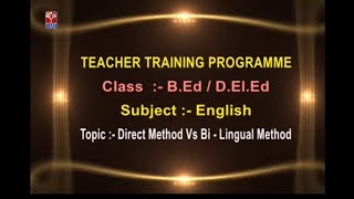 SCERT (TTP) || English - Direct Method vs Bi - Lingual Method || Live Bala Murali