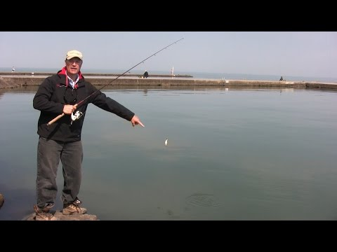Boatless Angler Shore Fishing Casting Techniques