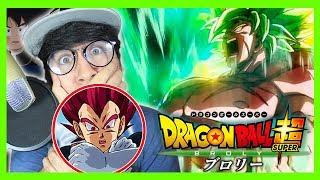 Dragon Ball Super Broly Trailer Español Latino Reacción