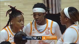 #20 Tennessee vs Ole Miss | Women Basketball Jan 28,2021