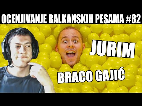 OCENJIVANJE BALKANSKIH PESAMA – BRACO GAJIĆ – JURIM (Official Music Video)
