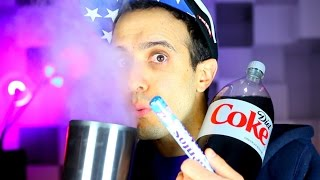 SHOCKING Mentos Soda and Liquid Nitrogen Experiment! MUST WATCH