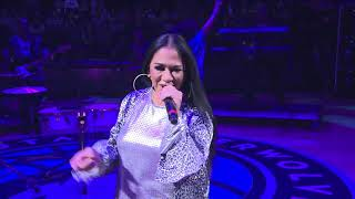 SHEILA E. PERFORMING AT TIMBERWOLVES HALFTIME SHOW HONORING PRINCE ON FEBRUARY 13