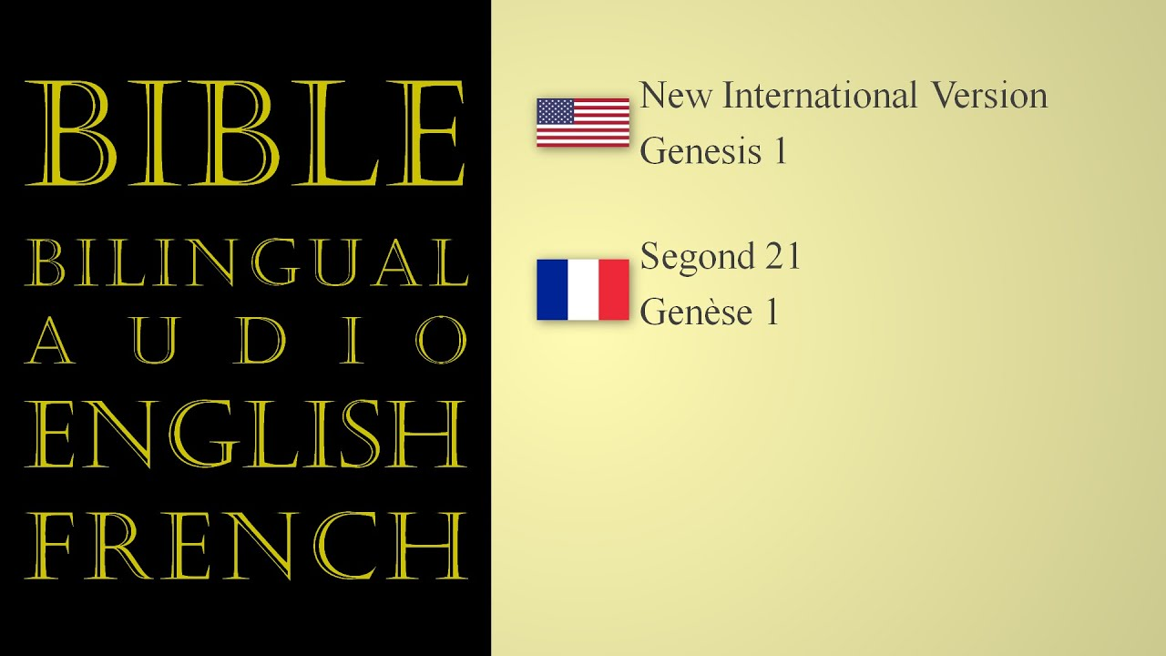 Bible | Bilingual Audio | English - French