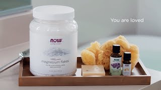 Relaxing Bath Recipe with Magnesium, Chamomile &amp Lavender  In Partnership with Yoga Journal
