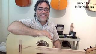 Advice on practice 9 a new way of learning flamenco guitar /sing for lessons on Skype/ Ruben Diaz