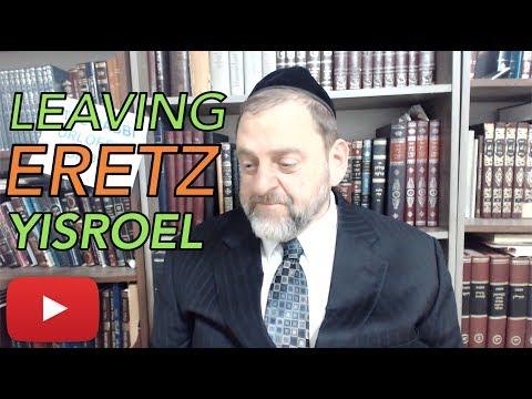 Episode 4: Leaving Eretz Yisroel