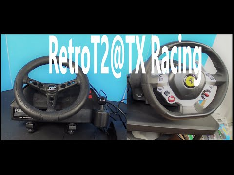 Thrustmaster T2(RetroTech) With TX-300(XboX-One) & PC