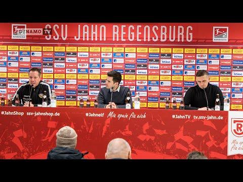 24. Spieltag | SSV - SGD | Pressekonferenz nach dem Spiel