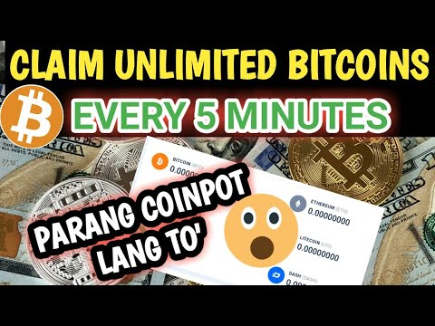 Claim Bitcoins Every 5 Minutes Using Your Laptop Or Cellphone