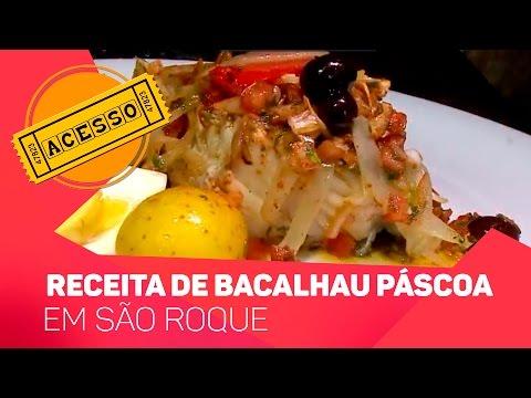 Receita de Bacalhau para a Páscoa - TV SOROCABA/SBT