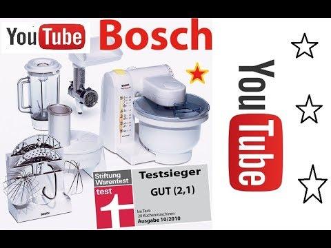 Bosch Mum4880 Kuchenmaschine Mum4 Unboxing Youtube
