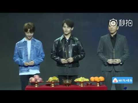 """171227 Beijing """"Heroic character 2018 conferenceA BETTER TOMORROW 2018 [英雄本色2018] Wang Kai,Tianyu"""