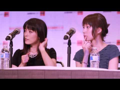 Ami Koshimizu and Ryoka Yuzuki Fan Panel @ AX 2014 Clip 22