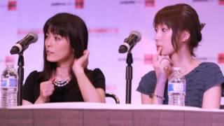 Ami Koshimizu and Ryoka Yuzuki Fan Panel @ AX 2014 (Clip 2/2)