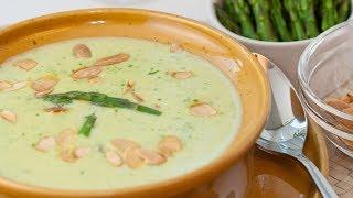 Asparagus Cream Soup - Argenteuil Cream Soup