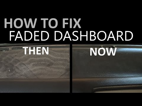 How to Fix Faded Dashboard | Suzuki Cultus | AutoHacks