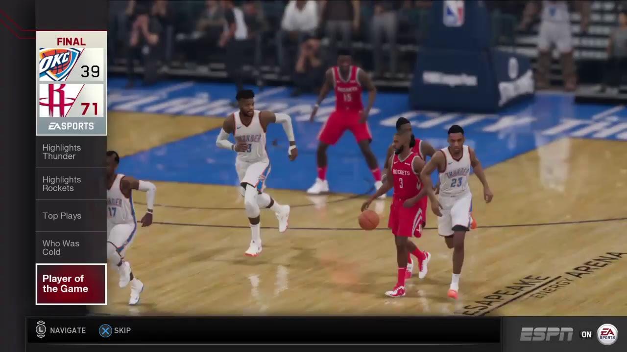 8098c37ac THE NBA PLAYOFFS 2019 1 ROUND HOUSTON ROCKETS SEED 4 AT OKLAHOMA CITY  THUNDER SEED 5