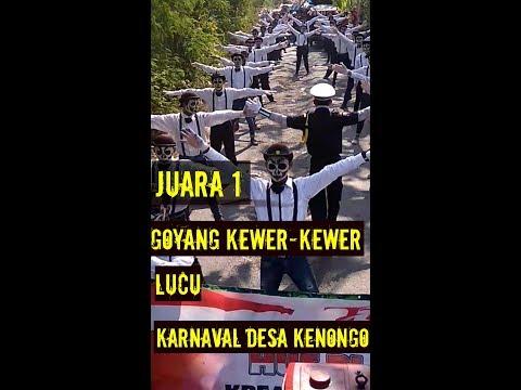 GOYANG KEWER-KEWER LUCU JUARA 1 KARNAVAL DESA KENONGO