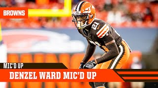 Denzel Ward Mic'd Up vs. Colts | Cleveland Browns
