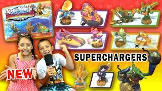 SKYLANDERS SUPERCHARGERS UPDATE! Thrillipede, Astro Blast, Big Bubble Pop Fizz, Action Packs + More
