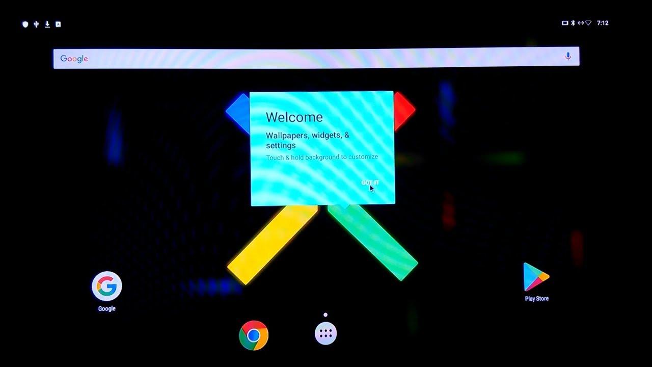 Mecool M8S Pro L running Magendanz Nano Nexus ROM - LB Variant - Android 7 1