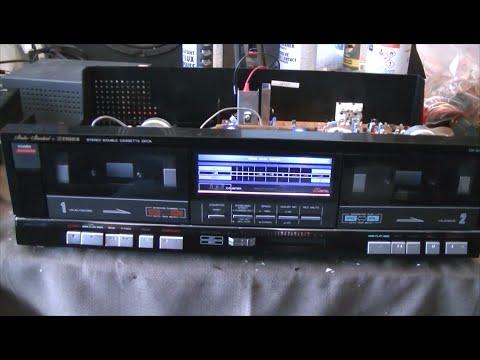 Fisher Studio Standard Repair Series - Part 6 - Cassette Deck Repair - CR-W870