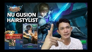 GUSION HAIRSTYLIST NEW SKIN - Mobile Legends indonesia