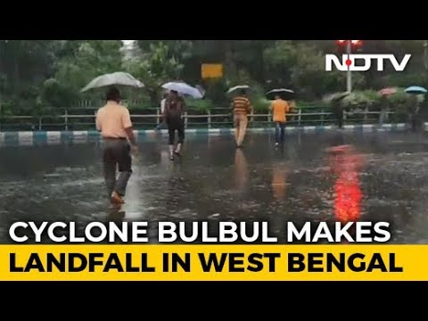 West Bengal On Alert As Cyclone Bulbul Makes Landfall